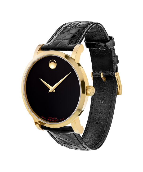 MOVADO Red Label0607007 – Men's 42 mm automatic strap watch - Side view