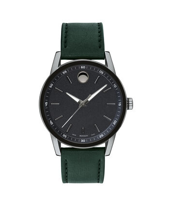 MOVADO Museum Sport0607264 – Men's 40 mm strap watch - Front view