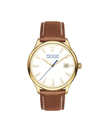 MOVADO Movado Heritage Series3650033 – Women's 36 mm strap watch - Front view