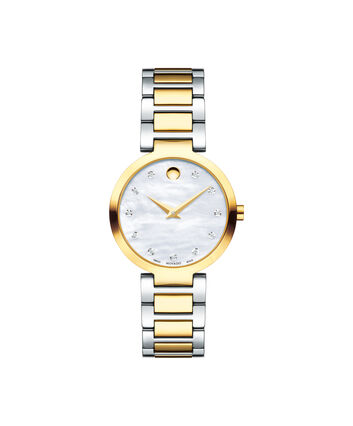 MOVADO Modern Classic0607103 – Women's 28 mm bracelet watch - Front view