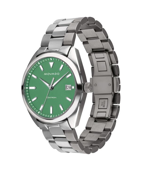 MOVADO Movado Heritage Series3650075 – Men's 39 mm bracelet watch - Side view