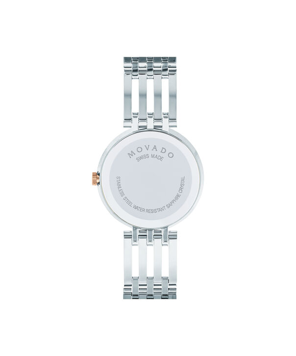 MOVADO Esperanza0607114 – Women's 28 mm bracelet watch - Back view