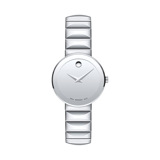 a8ddc2540 Movado   Women's Sapphire Stainless Steel Watch