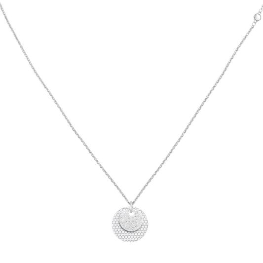 Movado Disc Necklace