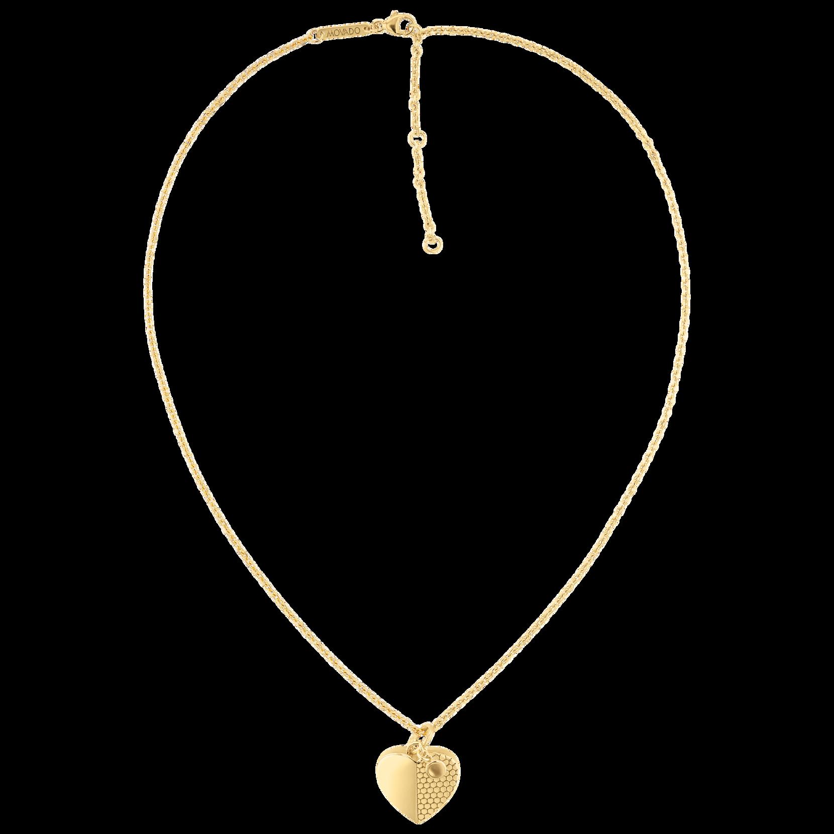 Movado Heart Necklace