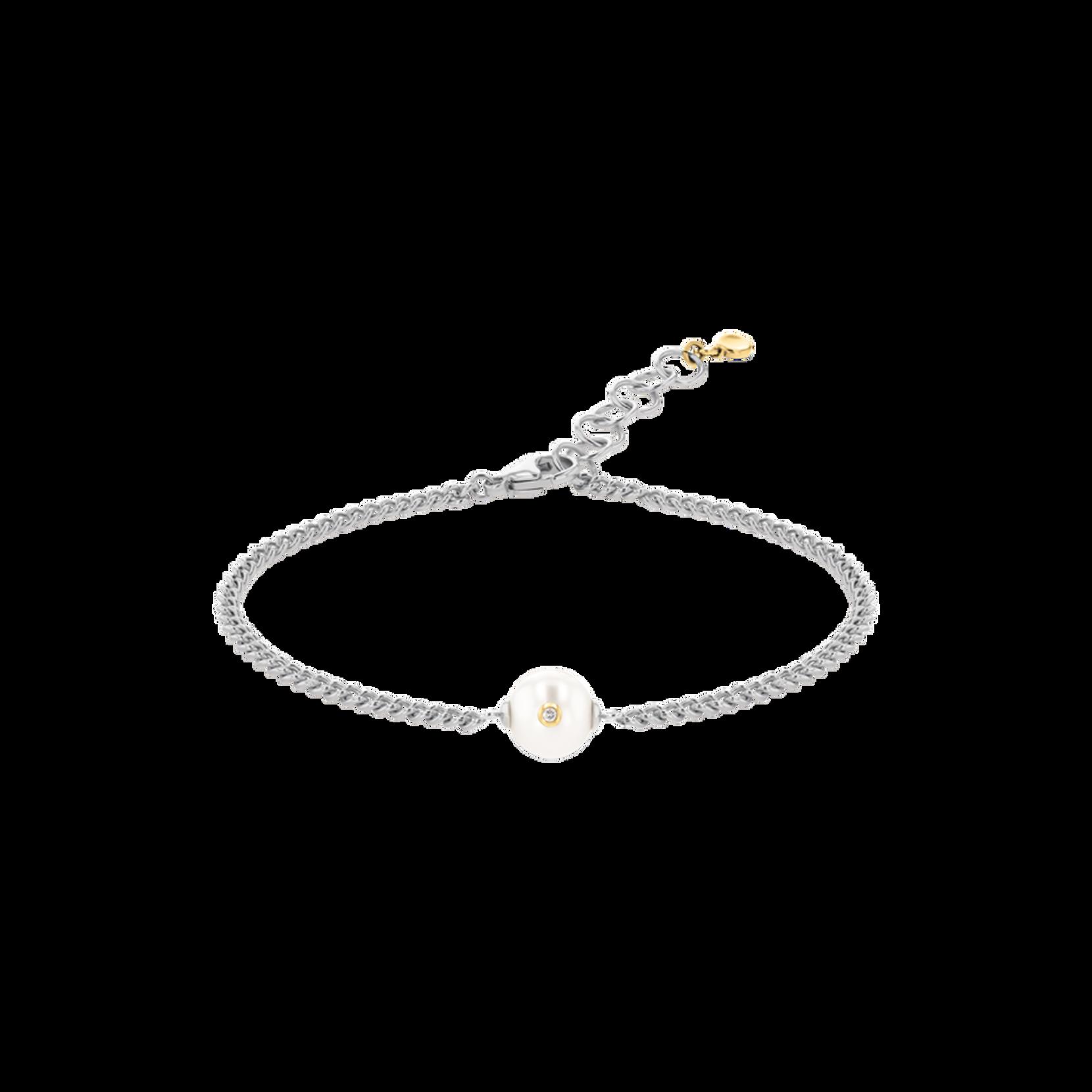 Movado Signature Pearl Chain Bracelet