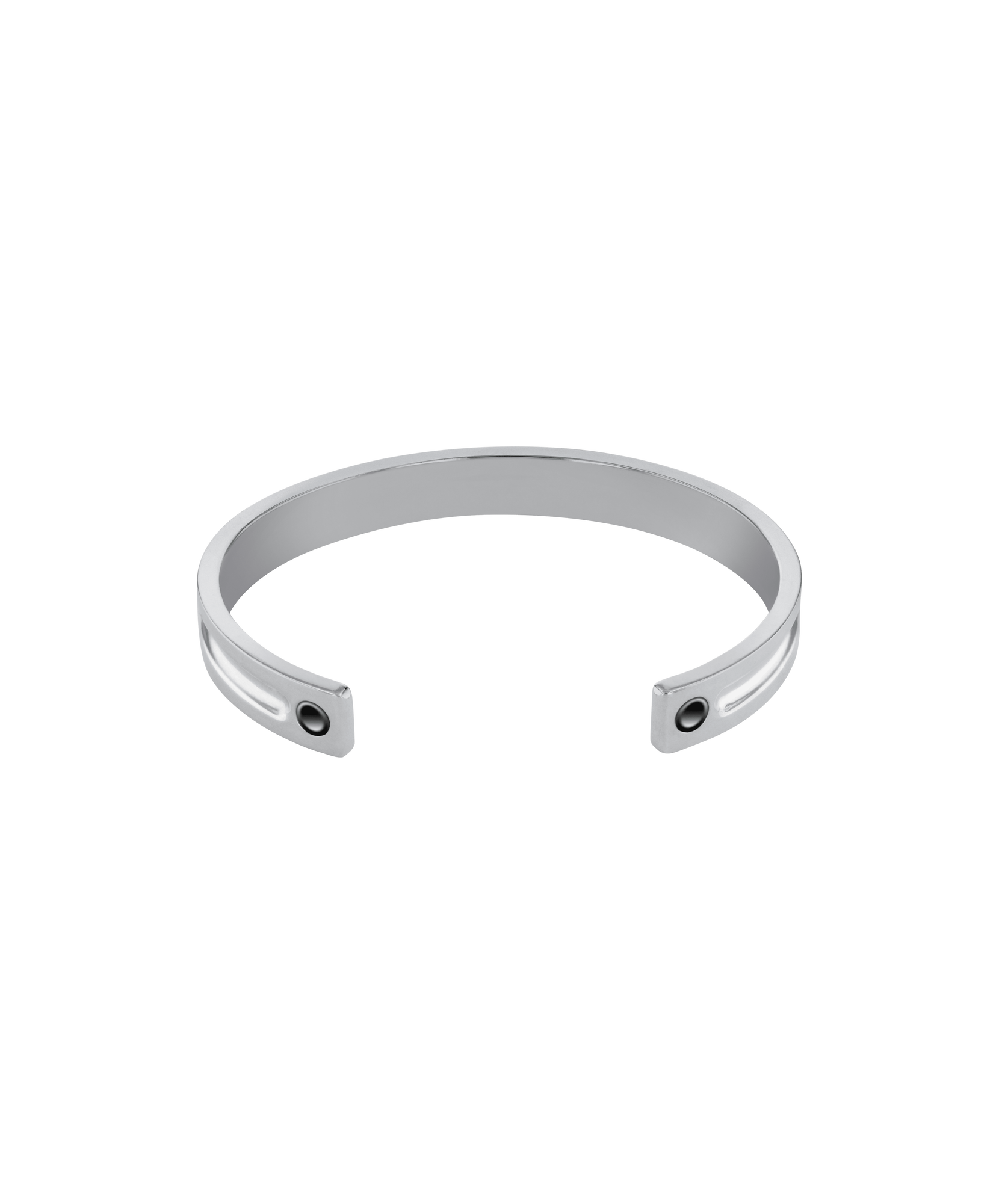 Large Mens Sterling Silver Cuff