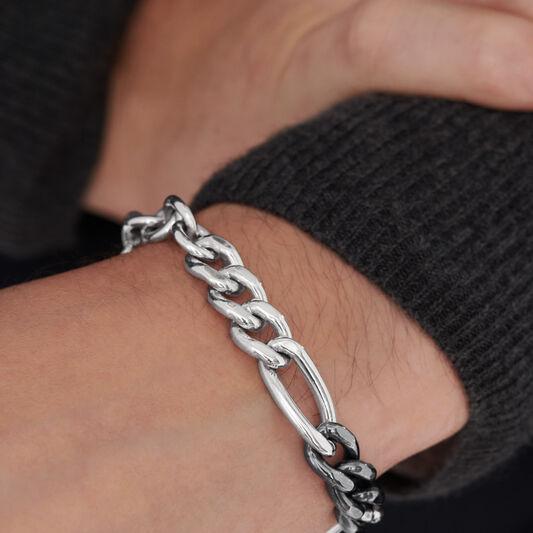 Movado Men's Mixed-Chain Bracelet