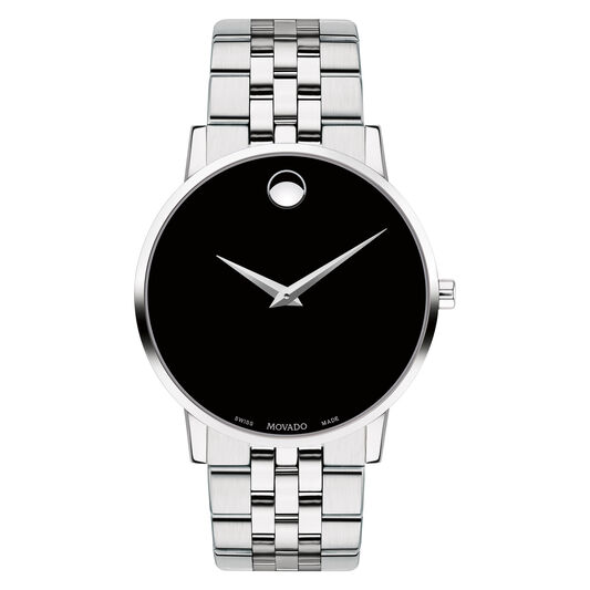 Movado Museum Classic Men S Stainless Steel Bracelet Watch