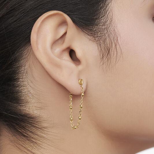 Movado Ball & Chain Earrings