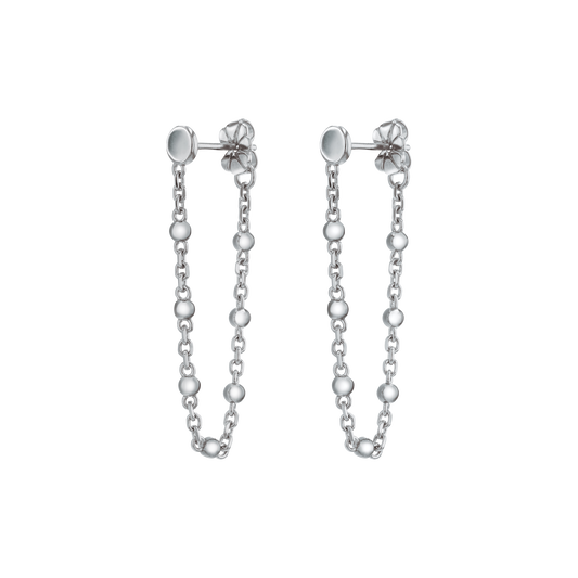 Movado Ball & Chain Earrings