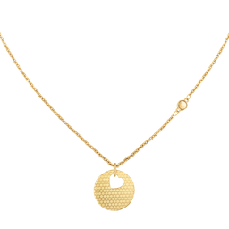 Movado Heart on Chain Necklace