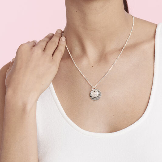 Movado Disc Necklace