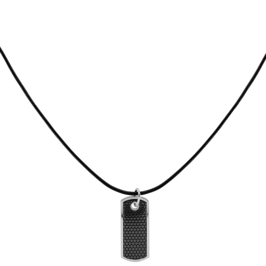 Movado Men's Dog Tag on Cord