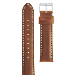 18mm Watch Strap with Stainless Steel Buckle