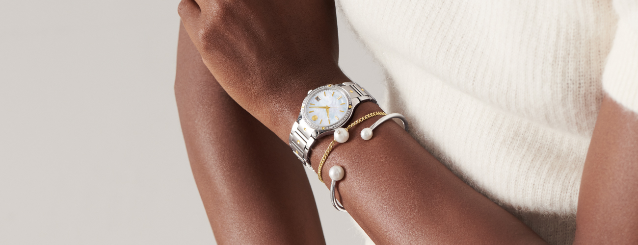 Movado Pearl Bracelet