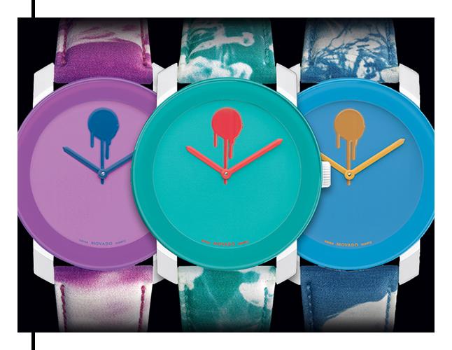 Drip Dot Dial BOLD Watch by designer Chris Benz