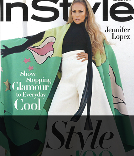 December 2018 issue of In Style magazine