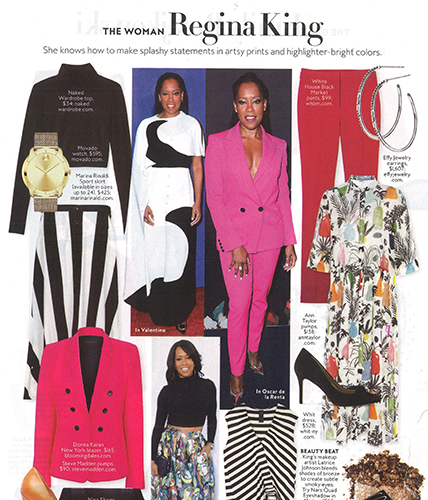 Movado BOLD Watch featured in InStyle Magazine