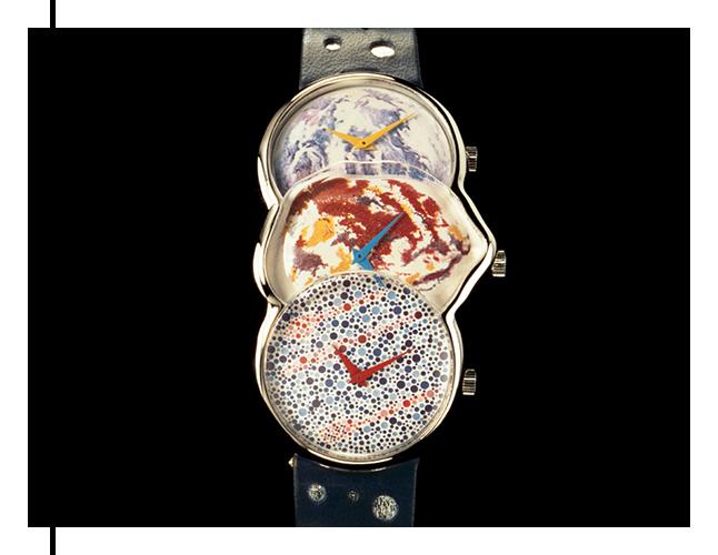 Watch by designer James Rosenquist
