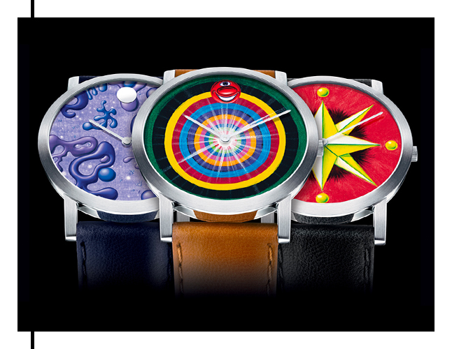 Watch by designer Kenny Scharf