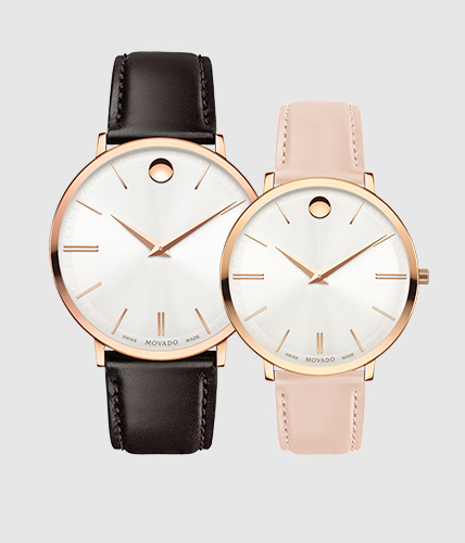 Movado ultra slim watch collection