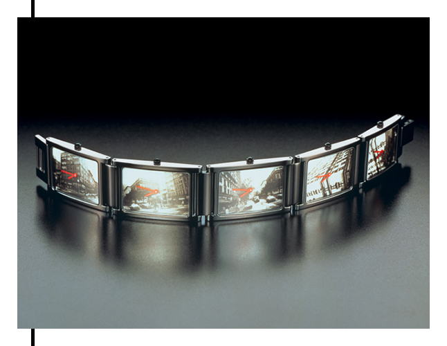 Times 5 Watch by artist Andy Warhol