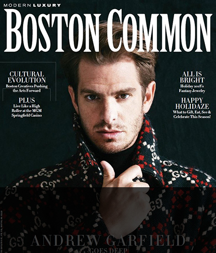December 2018 issue of Boston Common magazine