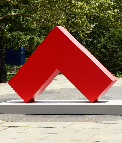 Movado Group Foundation partnered with Public Art Fund