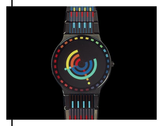 Watch by designer Chris Benz