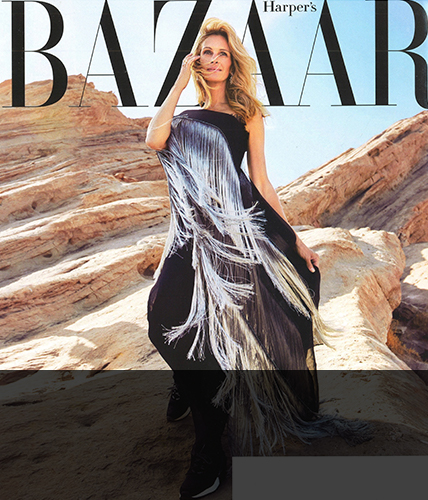 November 2018 issue of Harpers Bazaar magazine