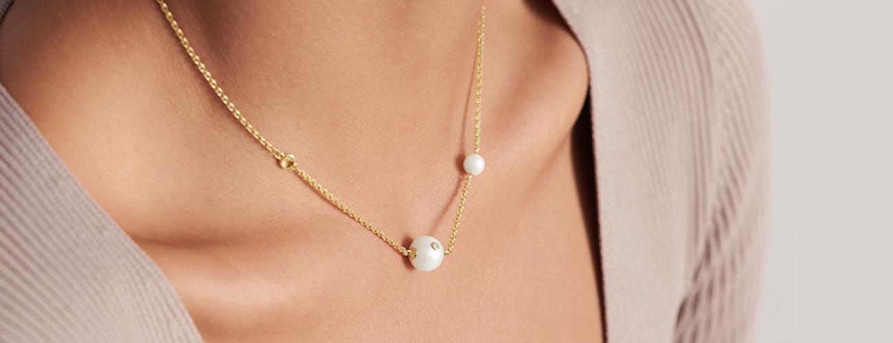 Movado Pearl Necklace