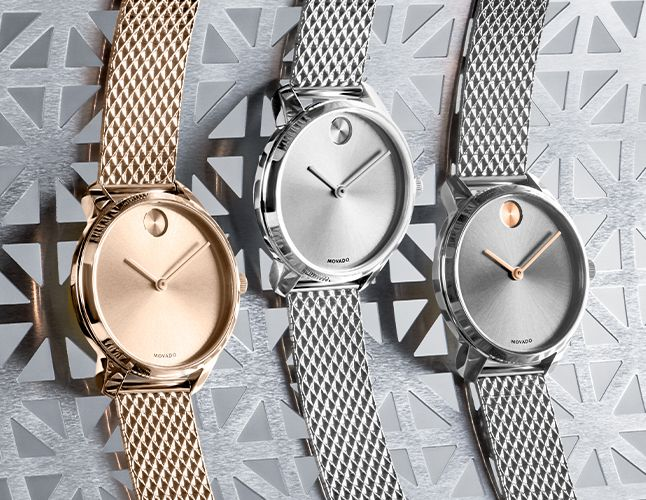 BOLD Mesh Watches