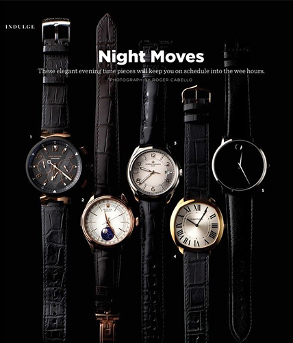 Museum Classic Watch featured in JWM Magazine