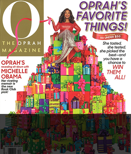 December 2018 issue of Oprah Magazine