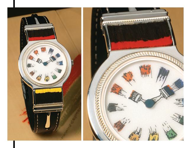 Watch by designer Arman