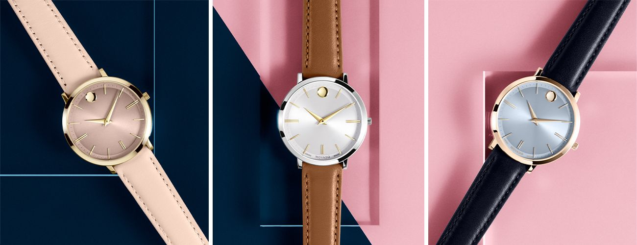 Movado Ultra Slim Watches