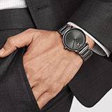 BLACK AND GREY WATCHES